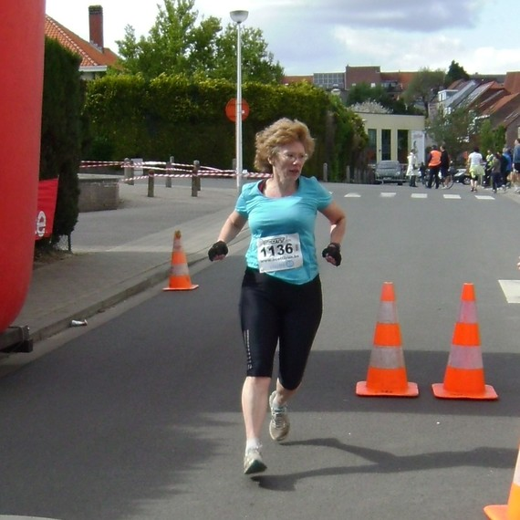 Fiona's 20 km for MSF