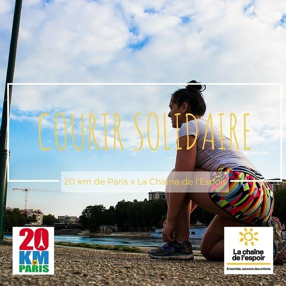 Courir Solidaire pour les Enfants de La Chaîne de l'Espoir