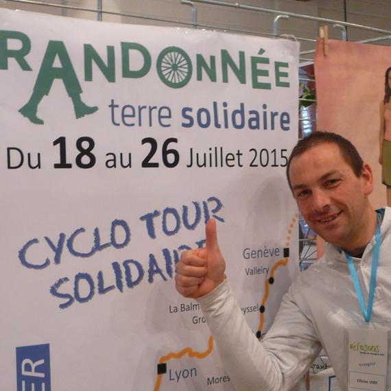 Cyclo tour solidaire, soutenez ma décente du rhône