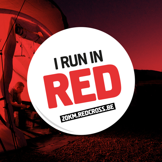 I run in red