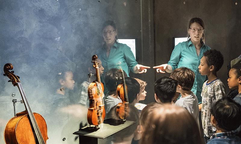 Balade autour d'un instrument au Musée de la musique - 2