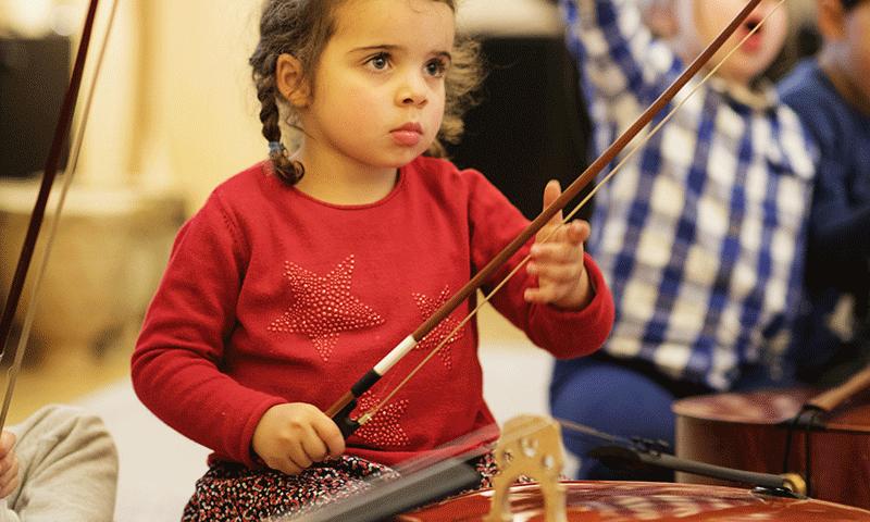 Atelier jeune public à la Philharmonie de Paris