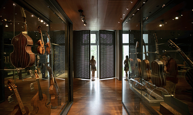 Musée de la musique - espace 17e siècle