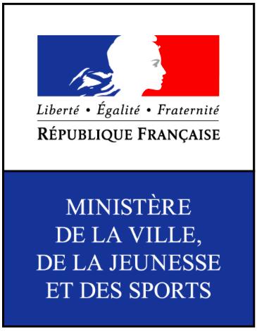 logo du ministère chargé des Sports, de la Jeunesse, de l'Education populaire et de la Vie associative