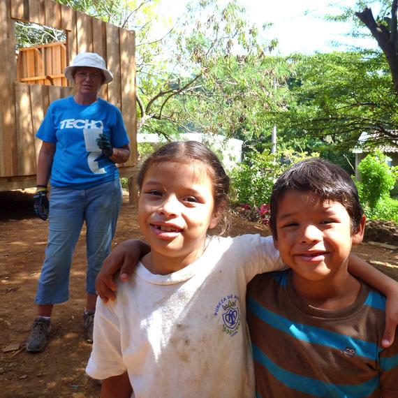 Nóg een huis voor Nicaragua.