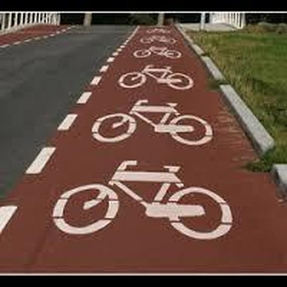 Ik fiets...