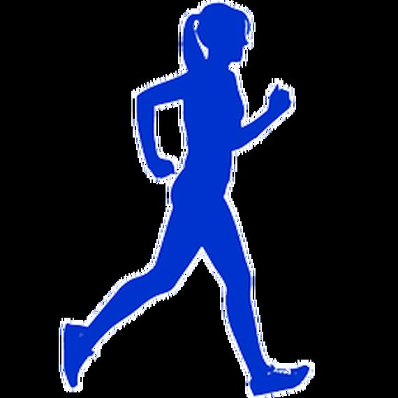 Running woman icon 13