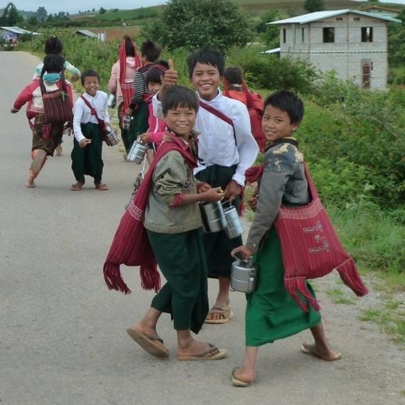 Courir pour les enfants du Mékong