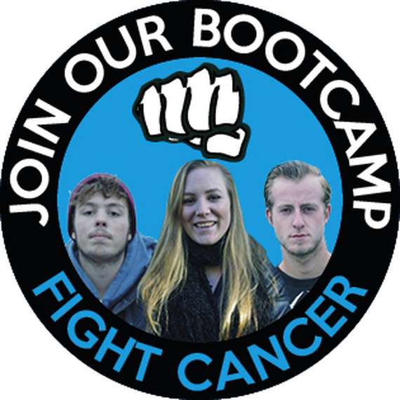 Bootcamp in actie voor Fight Cancer!