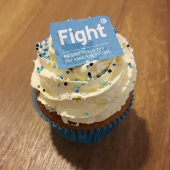 Fighters met de hoofdletter F: 'Love life eat cupcakes!'