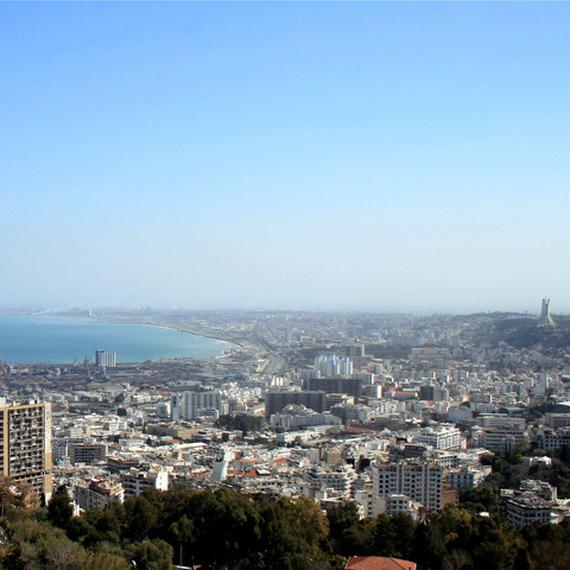 Elodie en Algérie