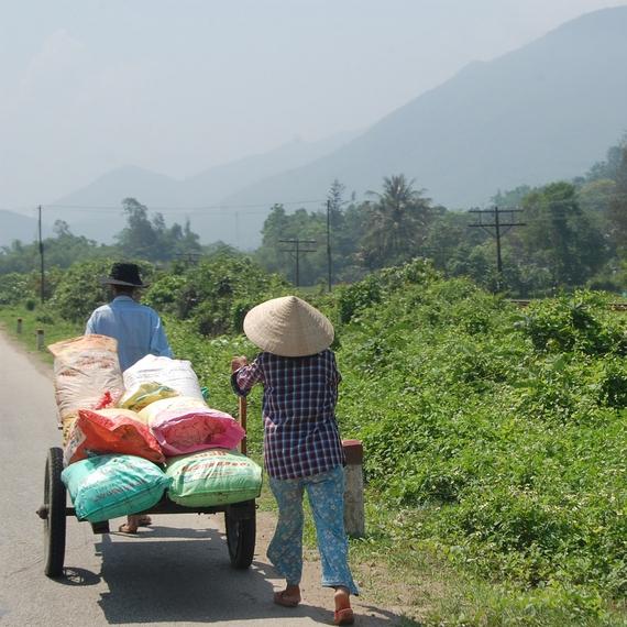 Timothée et Claire-Marie au Vietnam