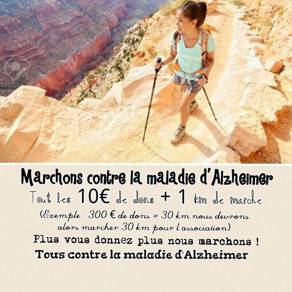 Marchons contre la maladie d'Alzheimer